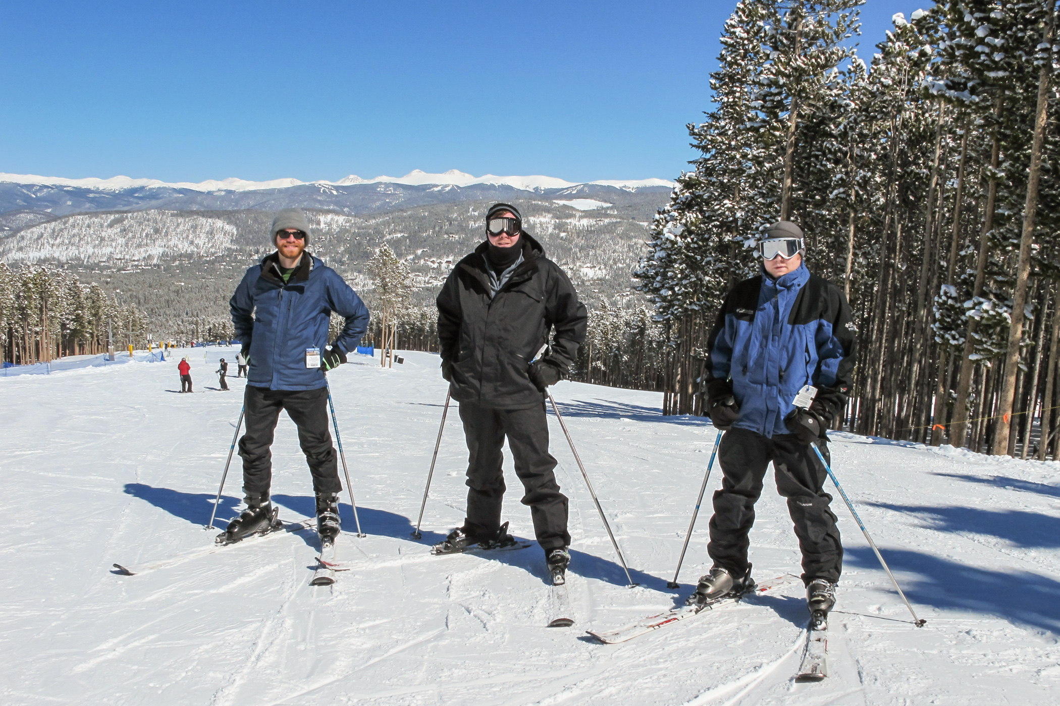 "Earl, Phil and Rob ready to ski ""caption=""things"